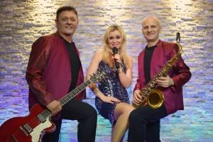 zespół muzyczny Włocławek w pełnym trzyosobowym składzie